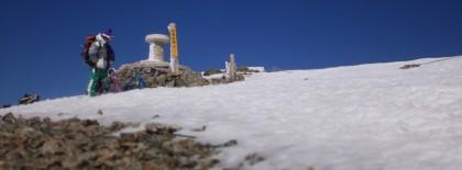 白馬岳山頂