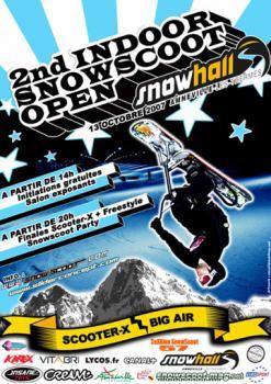 Indoor Snowscoot Open 2nd