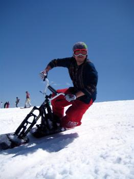 SNOWSCOOT Yamanoue's Riding