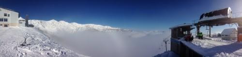 八方尾根雲海